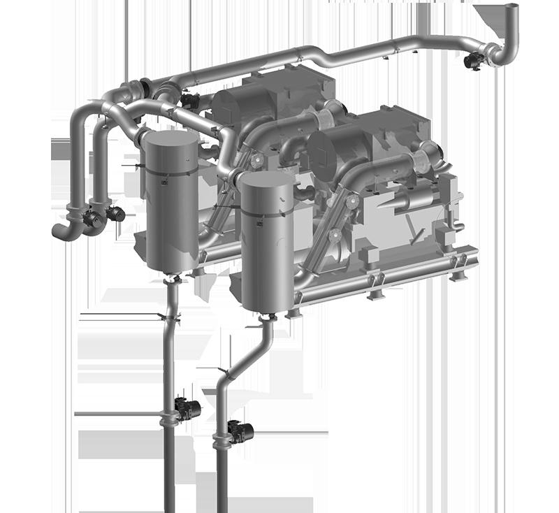 Diesel generators development by MarQuip, Exclusive yacht exhaust
